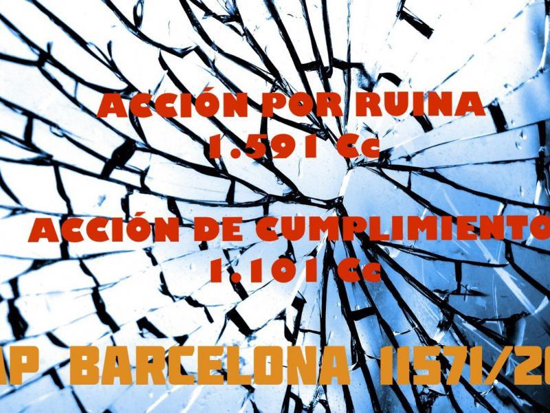 Resumen de la SAP Barcelona 11571/2019 de 2 de noviembre