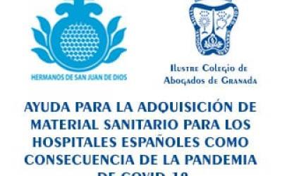 Iniciativa solidaria organizada por el Ilustre Colegio de Abogados de Granada y la Orden Hospitalaria de San Juan de Dios