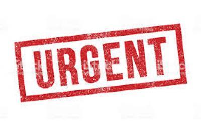La oficina pública notarial solo prestará servicios urgentes